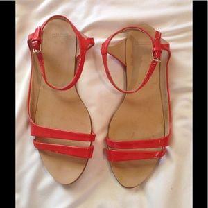 Zara Coral Sandals