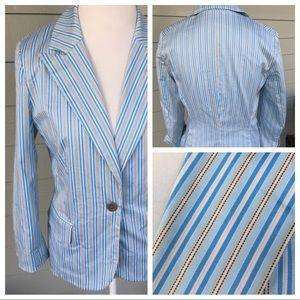 Covington striped blazer