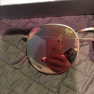Ray-Ban Accessories - NWT rose gold ray bans