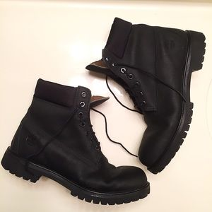 Timberland Other - Men's black leather Timberland boots size 11