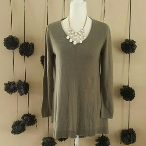 Chico's Tops - Chico's Size 0 Small Green Long Sleeve Top