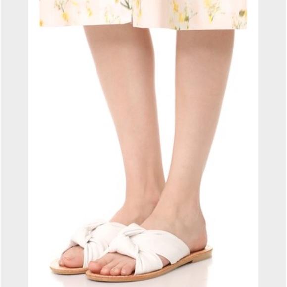 105143f981a Soludos Knotted Slide Sandals. M 59308b0f2fd0b703400075fb