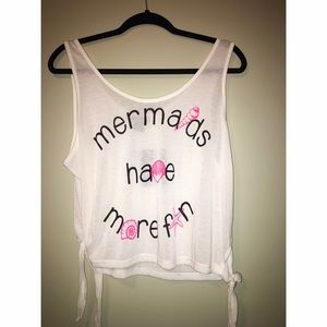 Miss Chievous Tops - Mermaids have more fun tank