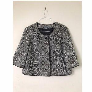Ann Taylor Jackets & Blazers - Swing Jacket ¾ sleeve Bust-44 Sleeve-16 Length-20