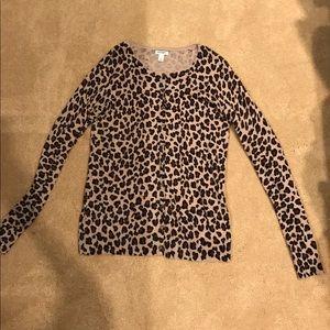 Cheetah Cardigan