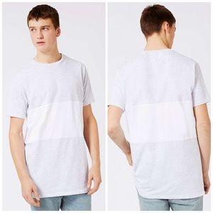 Topman Other - MEN'S Topman Paneled Longline T Shirt