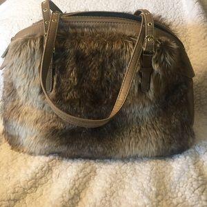 Olivia + Joy Handbags - Olivia +Joy Fur Tote
