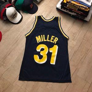 on sale 2cf5d 9eca3 VTG Champion Indiana Pacers Reggie Miller Jersey