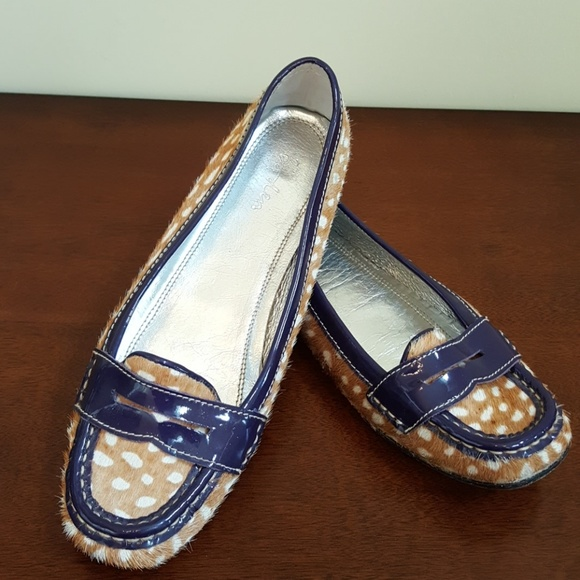 07a94a21eadb Boden Shoes | Calf Hair Flats Size 38 | Poshmark