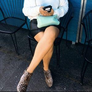 Shoes - //The Sahara// leopard velvet boogie