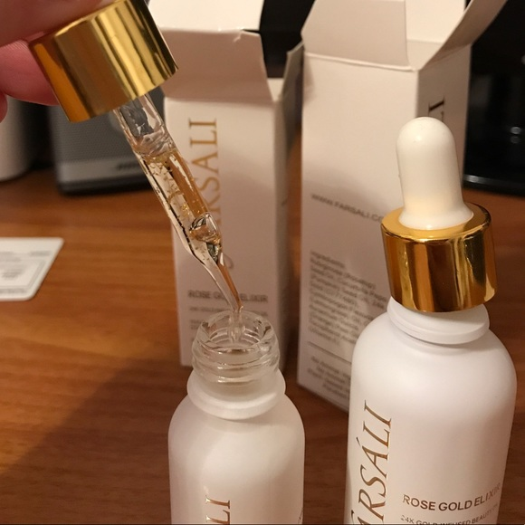 how to use farsali rose gold elixir