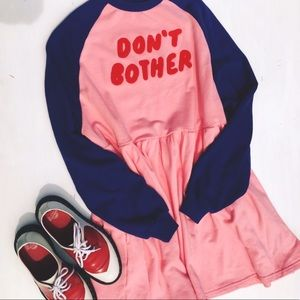 [lazy oaf] don't bother sweater dress