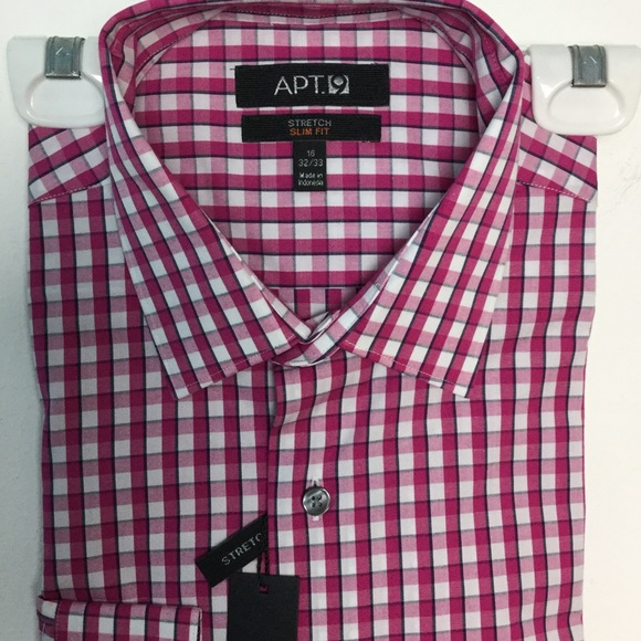 71 off apt 9 other apt 9 dress shirt 16 pink white for Apartment 9 dress shirts