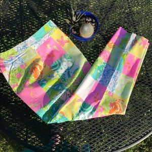 Lilly Pulitzer (White Label) Size 8 Pant