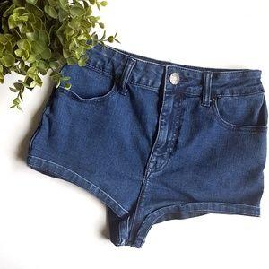 BDG Super High Rise Short Shorts