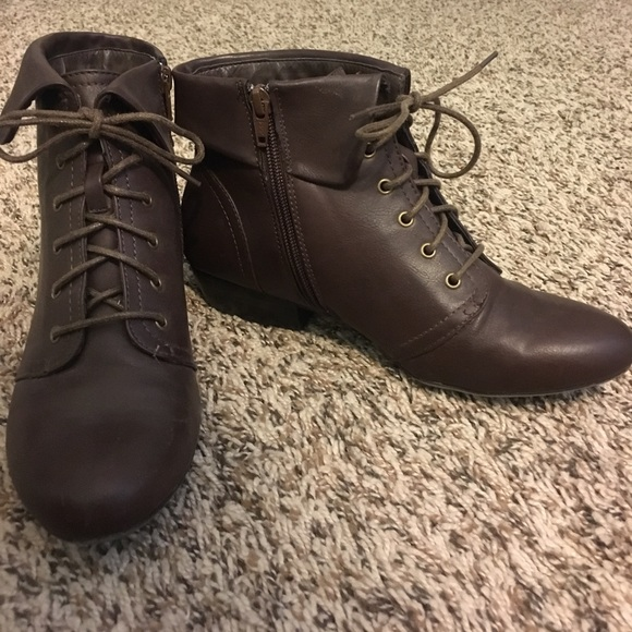 e8f251b818b6 jcpenney Shoes - Brown Ankle Booties