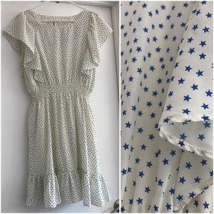 Alice Moon Dresses & Skirts - Cream and blue star dress