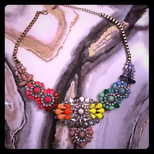 Natasha Neon Statement Necklace