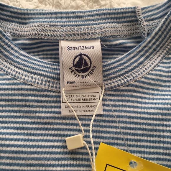 70 off petit bateau other petit bateau boys pajama for Petit bateau striped shirt