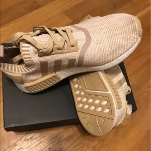 c711d8d8c28f5 adidas Other - Adidas Nmd R1 Primeknit Linen Khaki BY1912 Size7.5