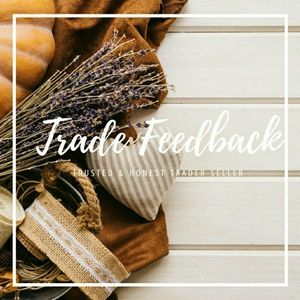 Other - TRADE FEEDBACK