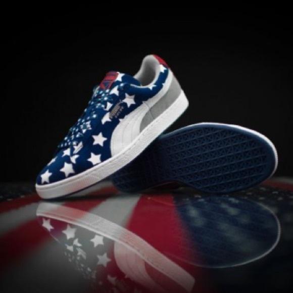 Puma Other - Puma Suede Americana 4th of July Sneaker