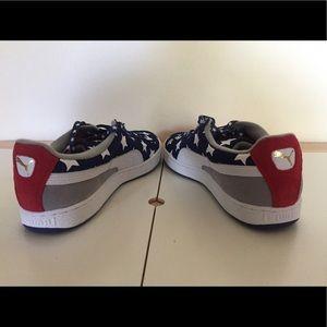 Puma Shoes - Puma Suede Americana 4th of July Sneaker