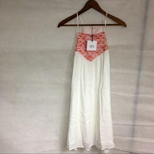 BB Dakota Dresses & Skirts - 💕 Jack BB Dakota dress white pink