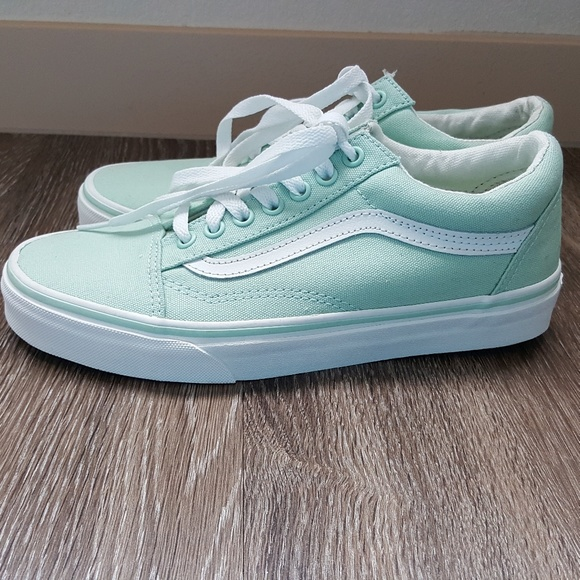 130018dcfd New Vans old skool sneakers in mint green