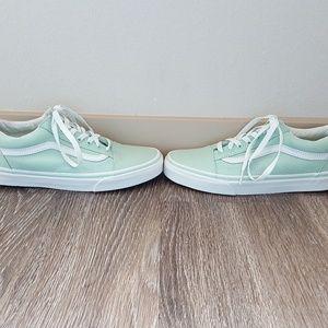 2c254bb5423 Vans Shoes - New Vans old skool sneakers in mint green