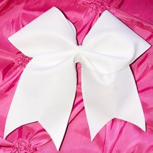 cheer bow Other - White Cheer Bow