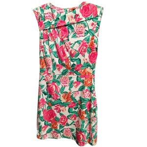 Ava & Aiden Dresses & Skirts - Offers welcome - Floral knotted-chest shift mini