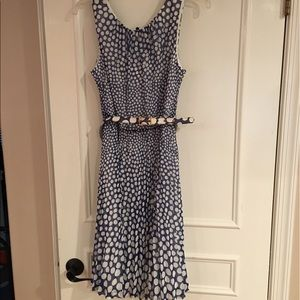 Trina Turk Dresses & Skirts - Trina Turk NWT Polka Dot Belted Dress