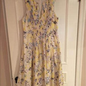 Rebecca Taylor Dresses & Skirts - Rebecca Taylor Floral Pleated Dress