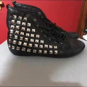 MakeMeChic Shoes - Studded Shoes