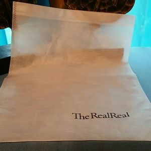 The RealReal Dust Bag