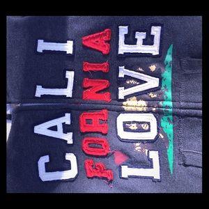 Sweaters - Large in Juniors California zip up sweater