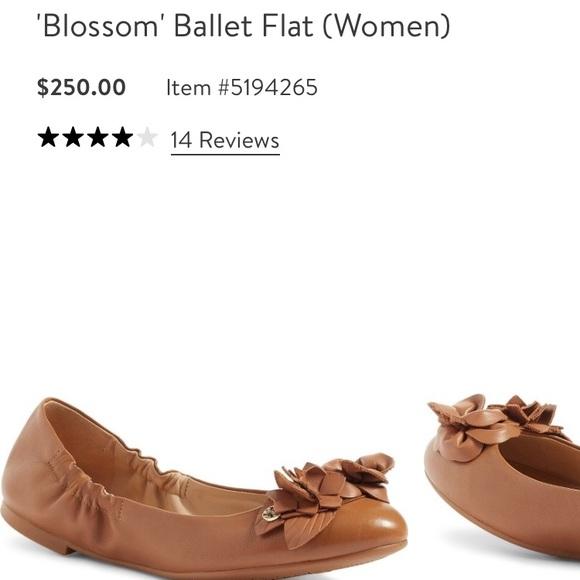 cdfbd870e303 Tory Burch  Blossom  Ballerina Flats. M 5930b9aca88e7d6699007bec