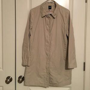 GAP Khaki Trench Coat