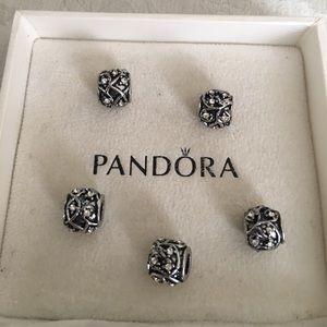 Pandora Jewelry - 5 Pure Love Charm Set