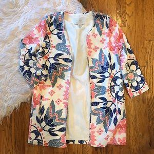 hinge Jackets & Blazers - Hinge floral blazer. Perfect condition!!