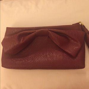 Big Buddha Handbags - Large Bow Wristlet