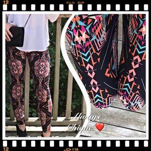 Classic Woman Pants - Colorful leggings