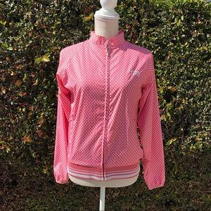 Jackets & Blazers - Pink Polkadot Windbreaker! 🎀