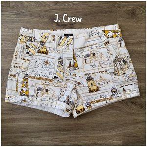 J. Crew Factory Pants - J. Crew city fit lighthouse pattern shorts