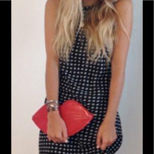 Charlotte Olympia Handbags - Charlotte Olympia Red Big Kiss Clutch