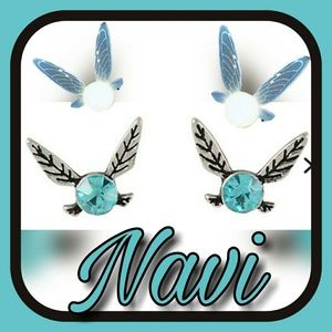 Nintendo Jewelry - Set of Navi earrings