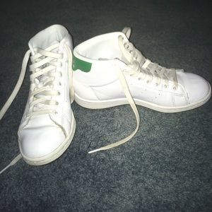 adidas Shoes - High top Stan smiths women's size 7