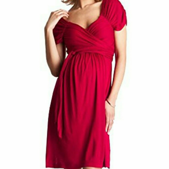 Seraphine Dresses Roxette Wrap Around Maternity Dress