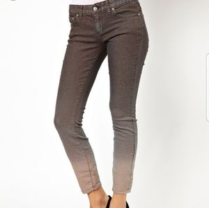 Free People Ombre ankle jeans